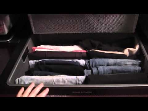 How to Organize & Fold Jeans in Your Closet
