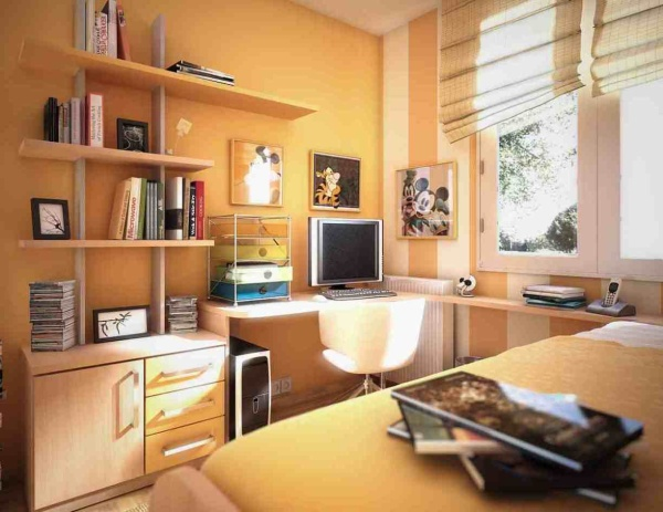 small study room design