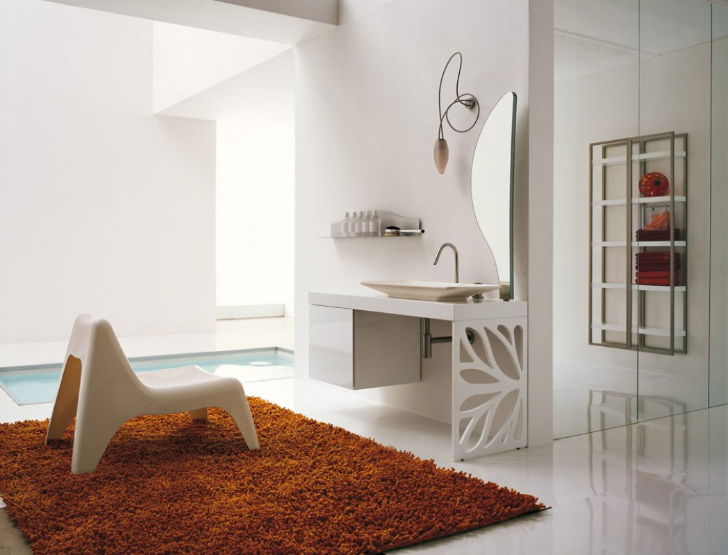 bathroom-rug-chair