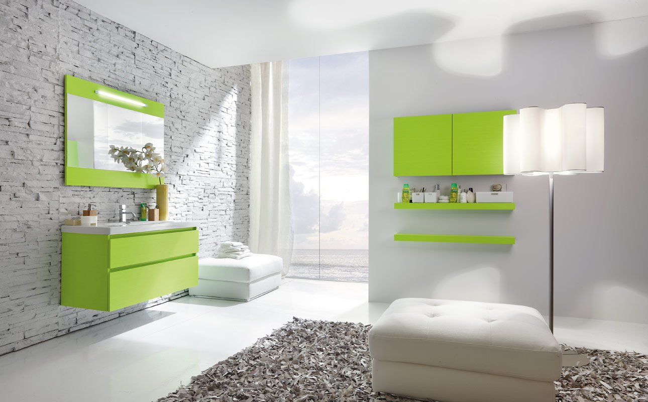 flourescent-green-bathroom
