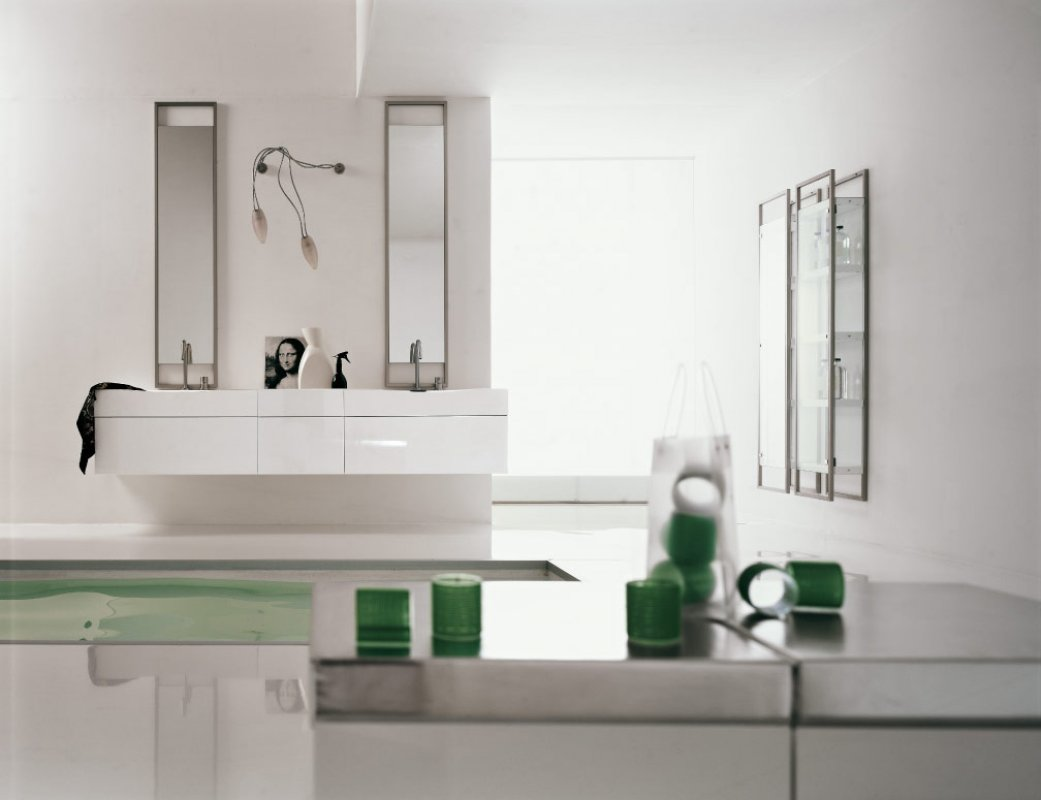 green-white-bathroom
