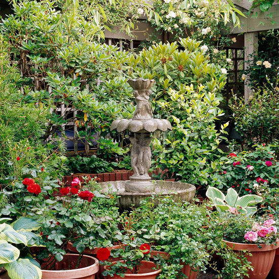 Outdoor Garden Fountain Ideas | Sri Lankan Home Decor | Interior ...
