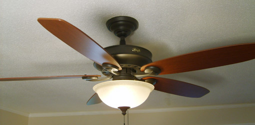 Ceiling Fans : Tips on Fixing