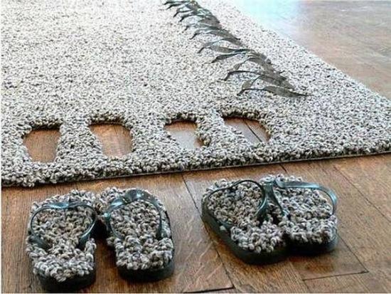 slipper-rug