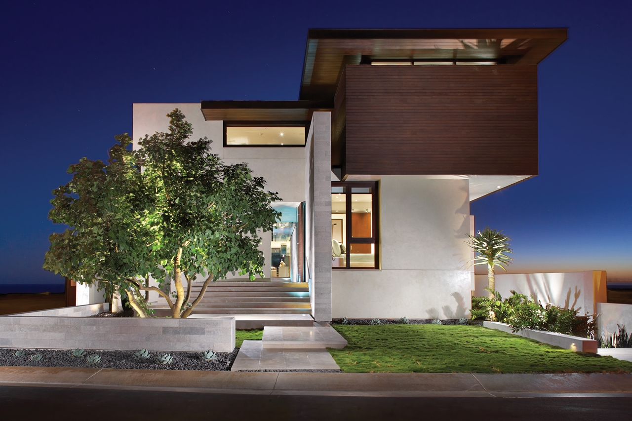 Beautiful modern homes  designs front views. (1)