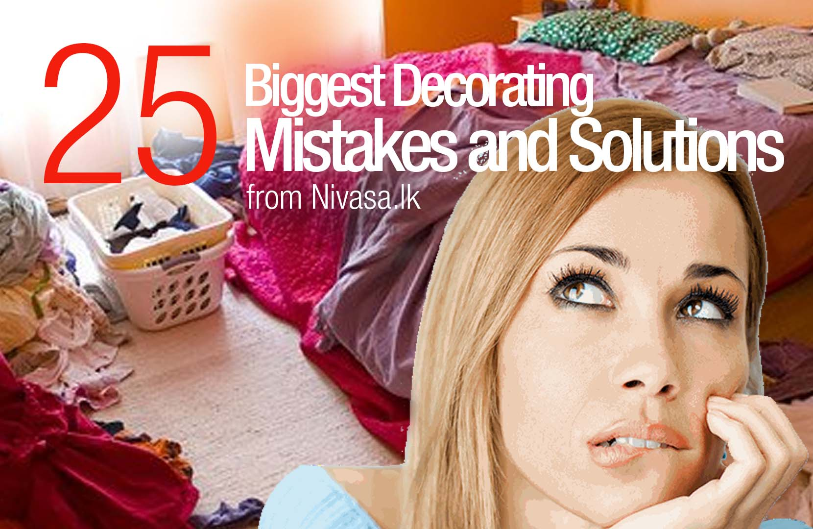 25 Biggest Decorating Mistakes and Solutions