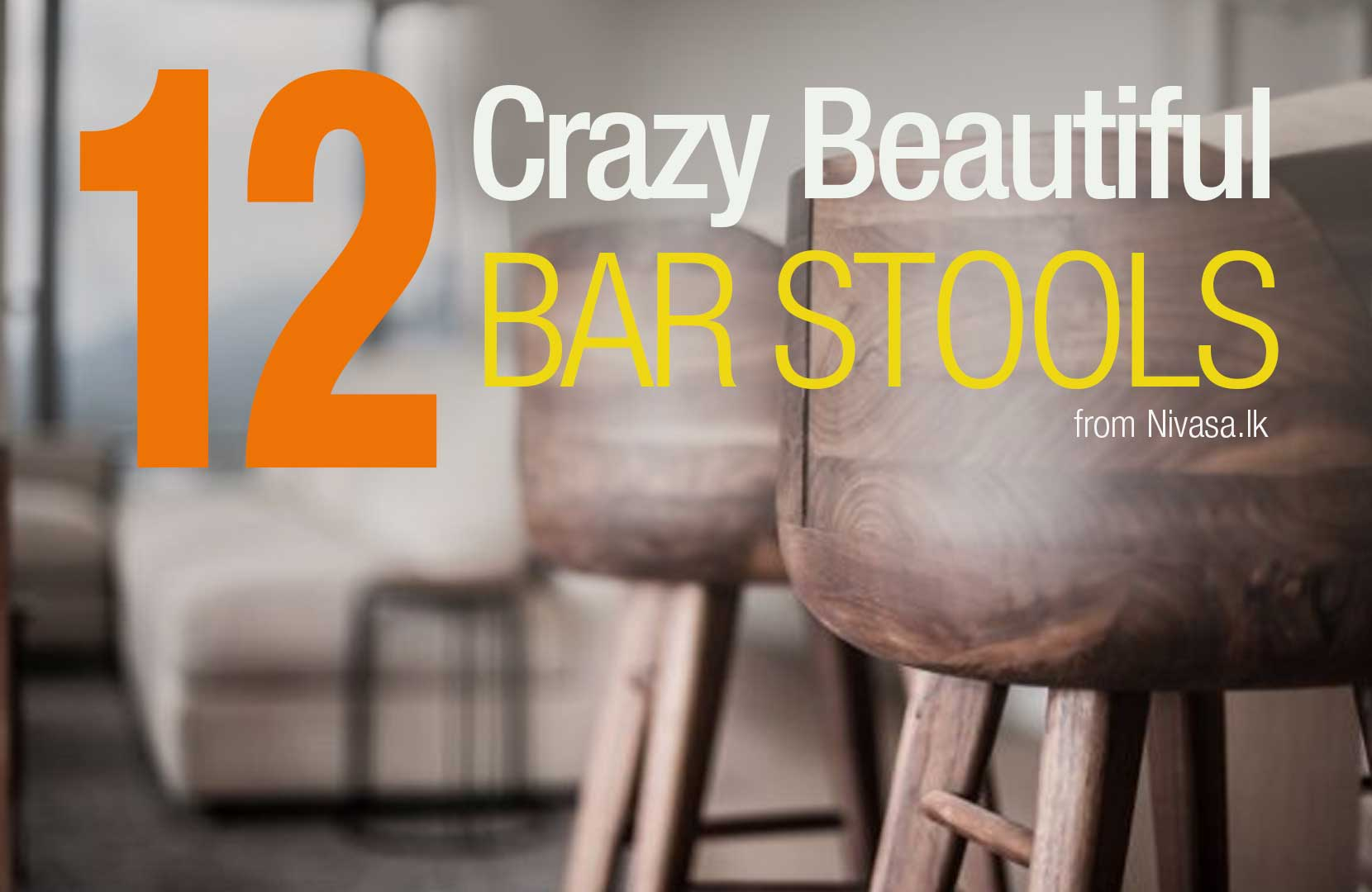 12 Great Bar Stool Ideas and how to place them