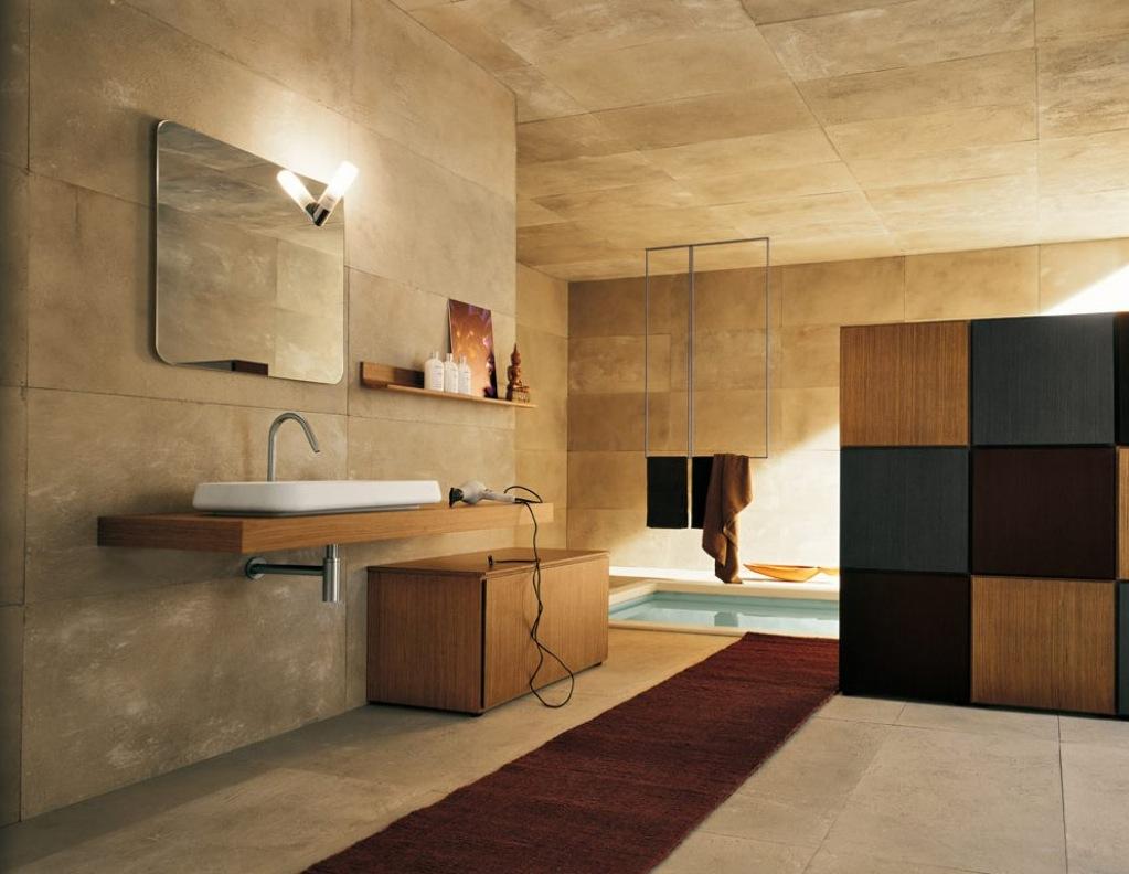 bathroom-with-stone-walls