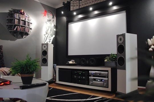 Ultimate Home Theater System Idea