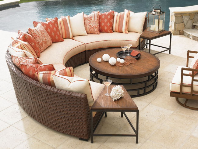 10 Most Beautiful Garden Furniture Collection