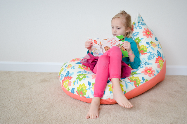 Do it Yourself : Sew a Kids Bean Bag Chair in 30 Minutes