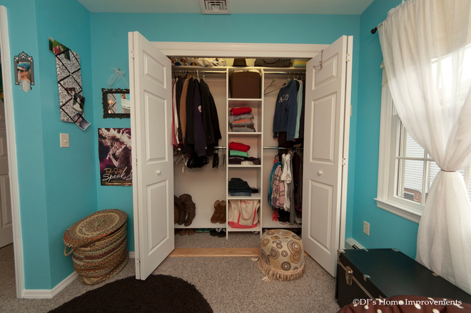 Keeping a tidy closet is not easy. Let's see how to keep it tidy
